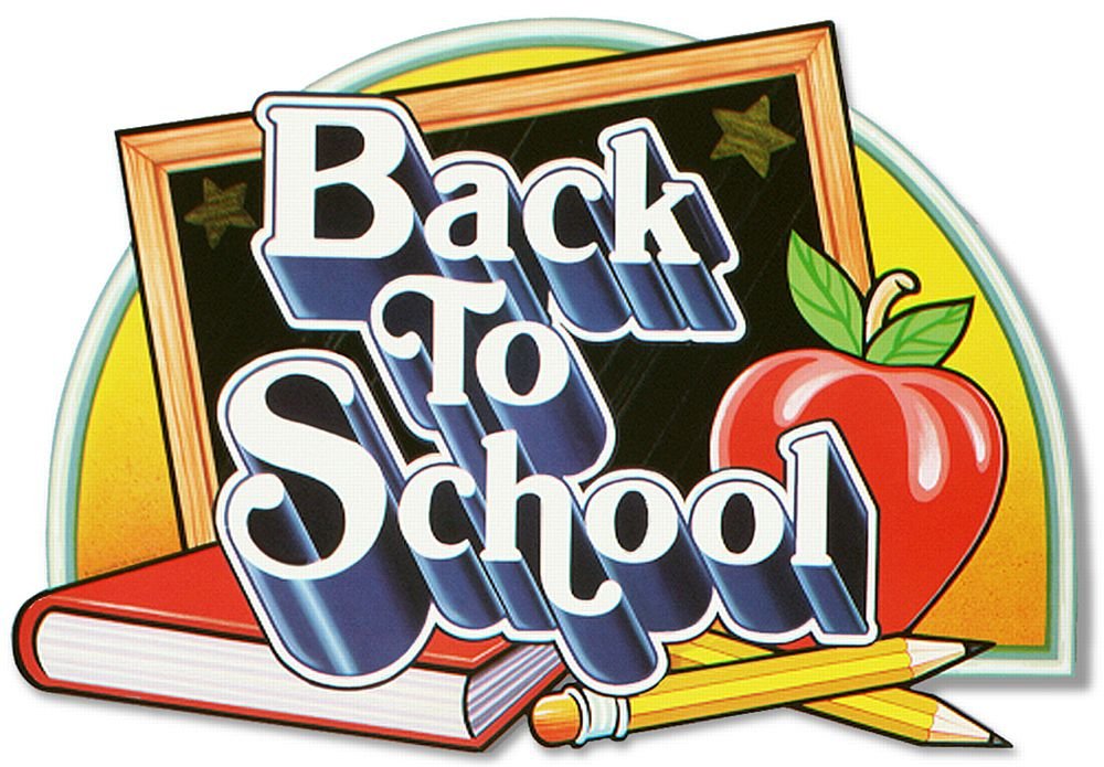 Back to school sign 25""