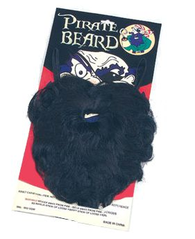 Click to view product details and reviews for Black Pirate Beard.