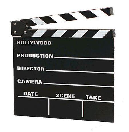 Click to view product details and reviews for Large Wooden Clapperboard 30cm.