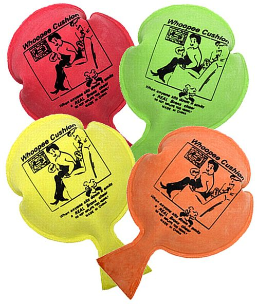 Whoopee Cushion - Assorted Colours - Each
