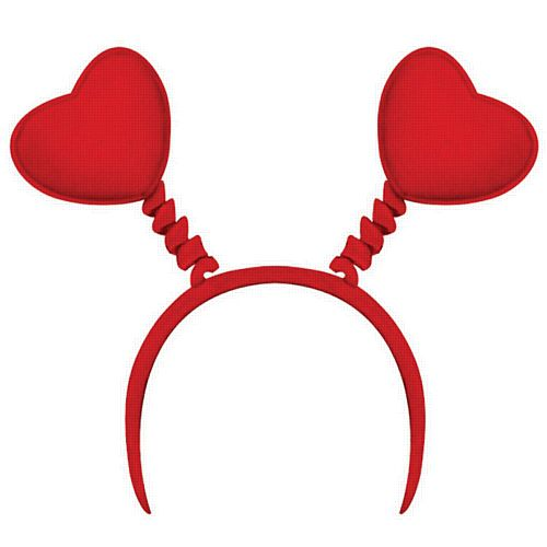 Red Heart Head Boppers