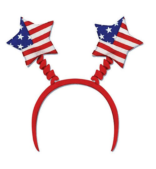 American Flag Head Boppers