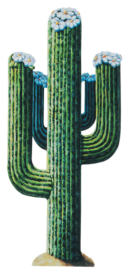 Cactus Jointed Cutout Wall Decoration - 1.3m