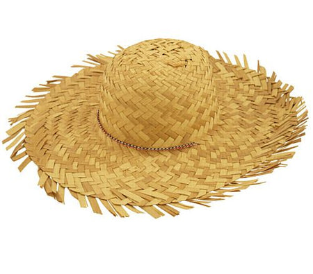 Ladies Straw Beachcomber Hat