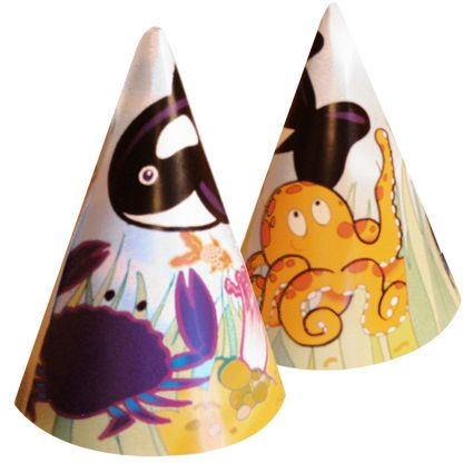 Sealife Cone Hat - Each