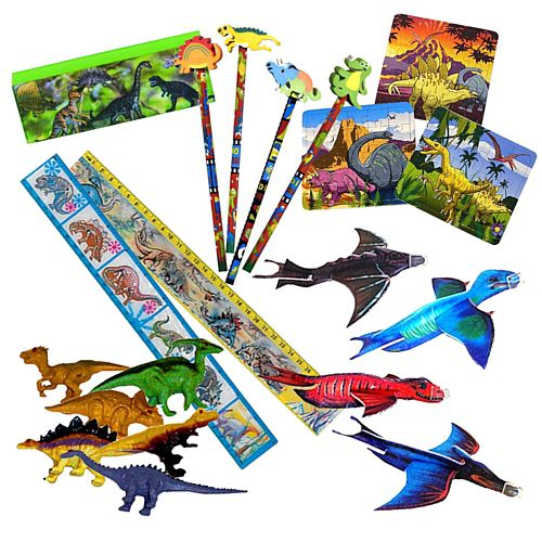 Dinosaur party toys Pack 100