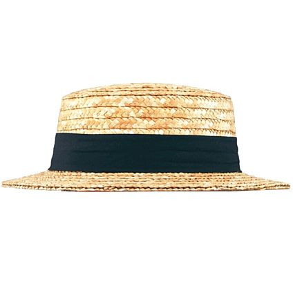 Straw Boater - Best Quality