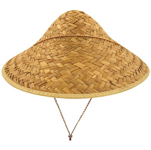 Chinese Straw Coolie Hat