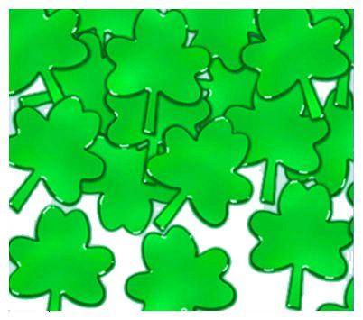 Green Shamrock Confetti 1oz