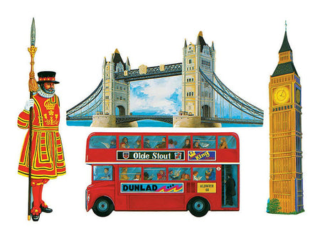British Cutouts - Set of 4 - 16