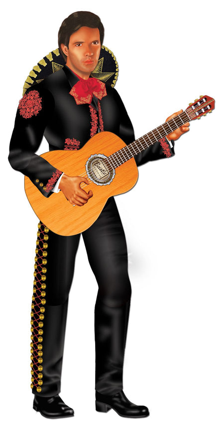 Mariachi Jointed Cutout Wall Decoration - 96cm