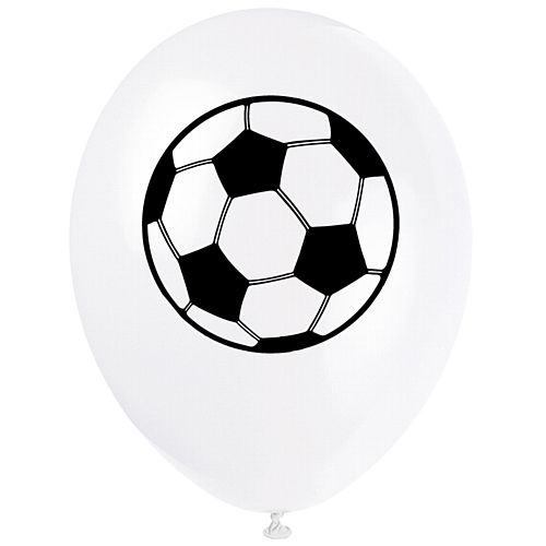 "Football Balloons 10"" Latex - Pack of 100"