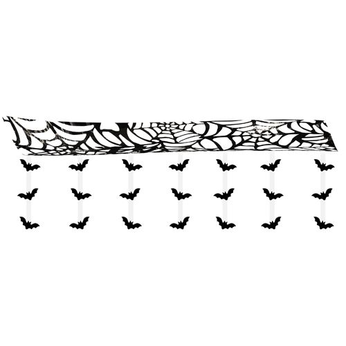 Hanging Bat Ceiling Decoration - 3m