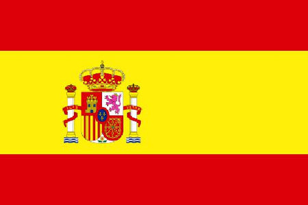 Spanish Polyester Fabric Flag 5ft x 3ft