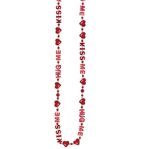 Hug Me, Kiss Me Bead Necklace