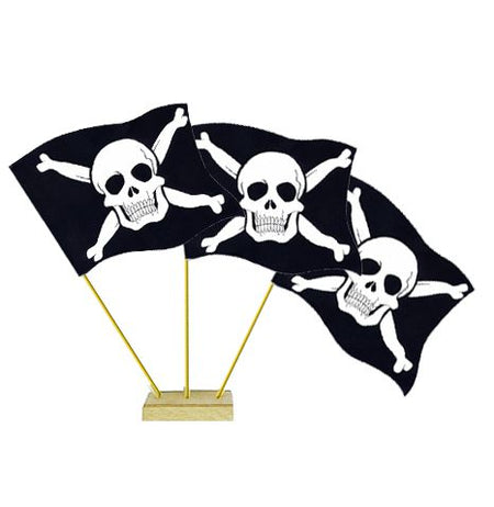 Pirate Table Flags 6