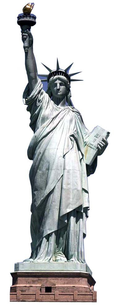 Statue of Liberty Cardboard Cutout - 1.91m