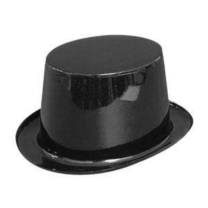 Click to view product details and reviews for Black Plastic Top Hat.