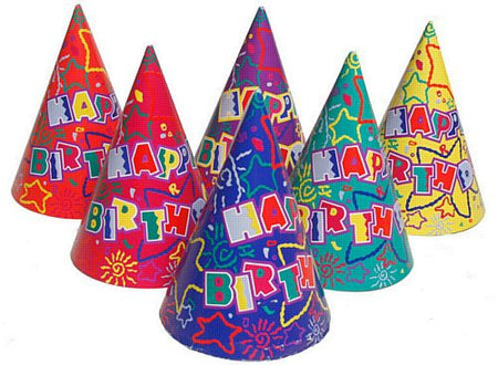 Click to view product details and reviews for Happy Birthday Cone Hats Assorted Designs Each.