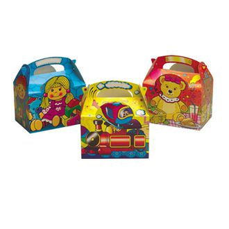 Ragdoll, Teddy and Toy Box Party Box - Each