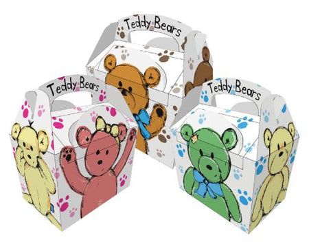 Teddy Bear Party Boxes - Each