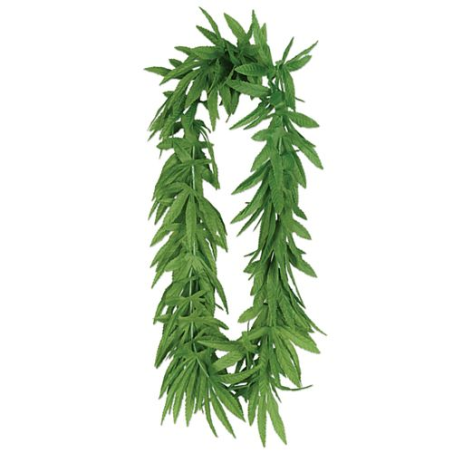 Tropical Palm Leaf Garland - 36cm