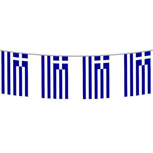 Greek flag Bunting 2.4m