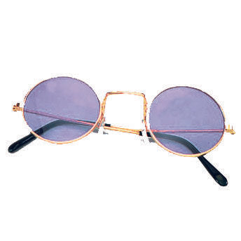 Blue Tint John Lennon Hippy Glasses