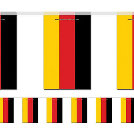 German large flag bunting 4m