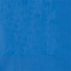Blue Luncheon Napkins - Pack of 50 - 33cm