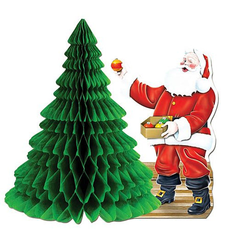 Click to view product details and reviews for Santa Tree Centrepiece 11.