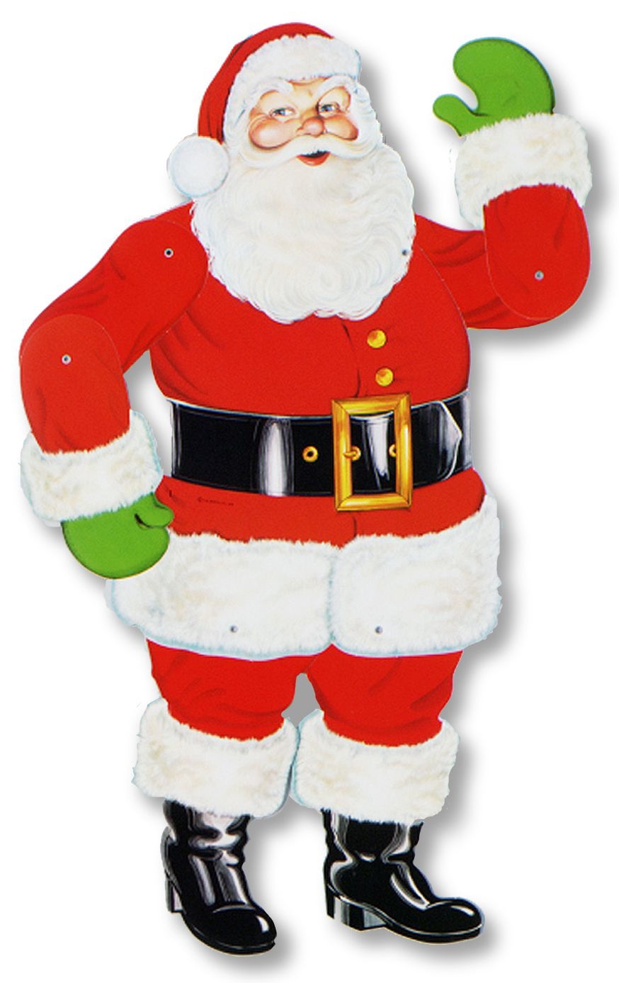 Small Jointed Santa - 29""
