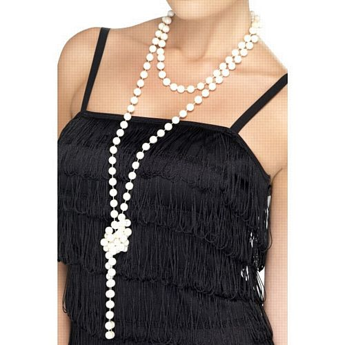 Flapper Pearl Necklace