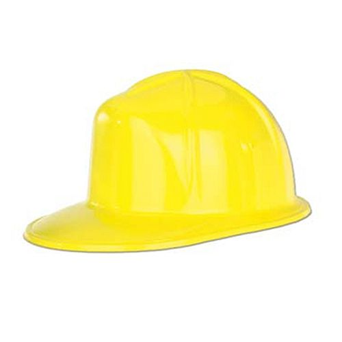 Yellow Builders' Hat