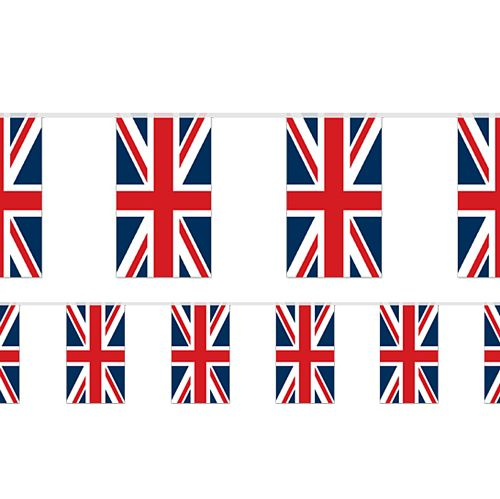 British Union Jack Flag Bunting 2.4m