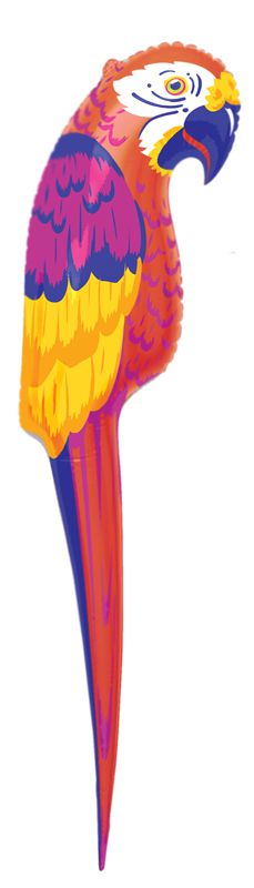 Large Inflatable Parrot 1.2m