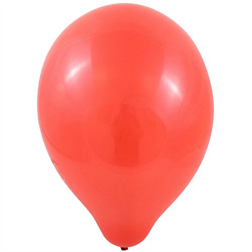 "Red Latex Balloons - 10"" - Pack of 100"