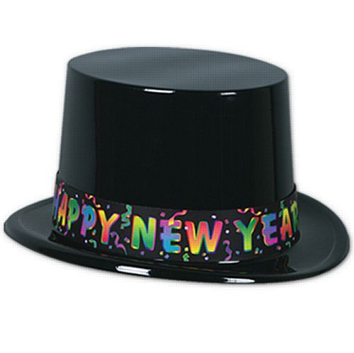 Happy New Year Top Hat - Each
