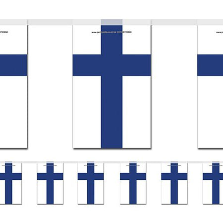 Finland Flag Bunting - 2.4m