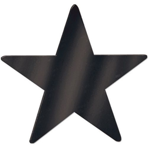 Black Star Foil Cutout - 12""