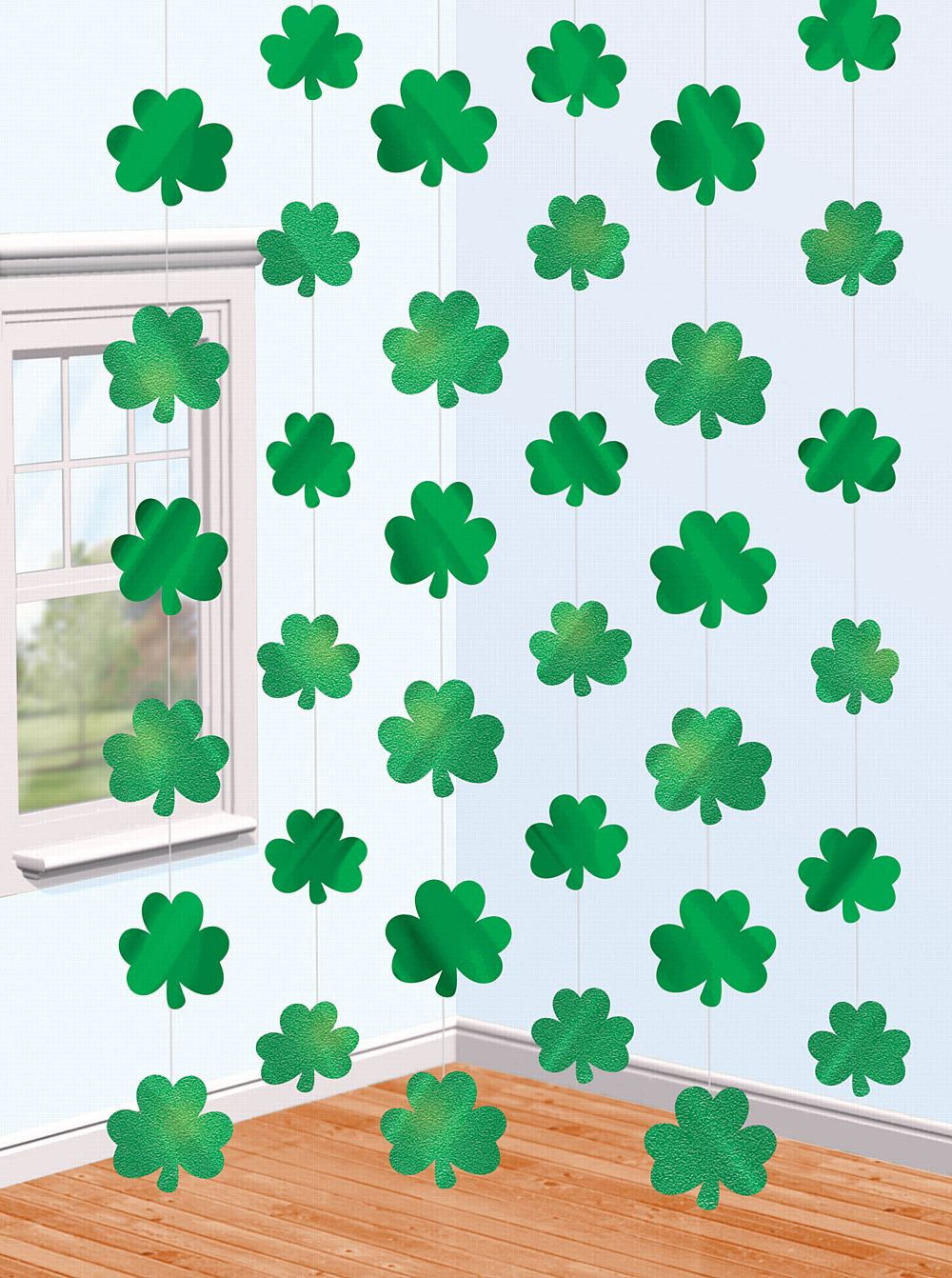 Shamrock String Decoration - 6m