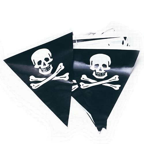 Pirate Outdoor Bunting