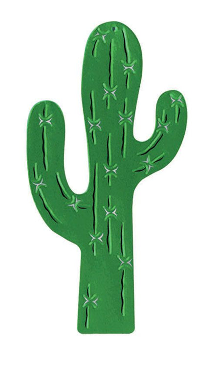 Click to view product details and reviews for Foil Cactus Silhouette 17.
