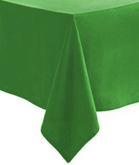 Green Paper Tablecloth 1.4m x 2.8m