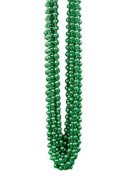 Green Party Beads - Pack of 12