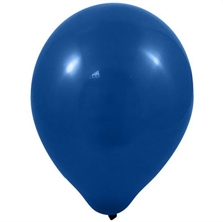 Dark Blue Latex Balloons 10 Pack Of 100