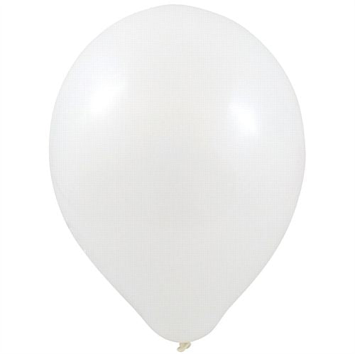 "White Latex Balloons - 10"" - Pack of 100"