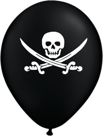 Click to view product details and reviews for Pirate Balloons Pack Of 10 10.