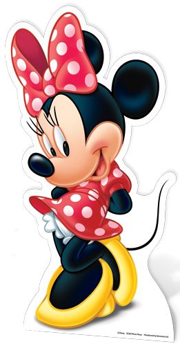 Disney Minnie Mouse Cardboard Cutout - 89cm