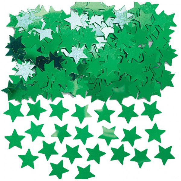 Green Star Confetti - 14g